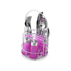 Pink Silverware set