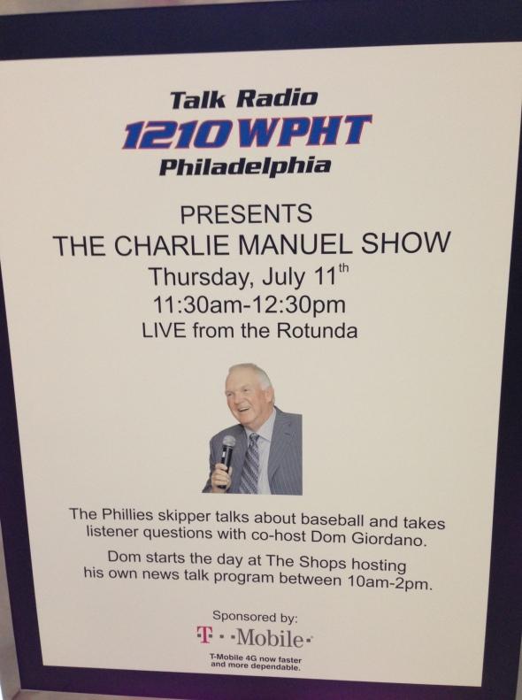 charlie manual show