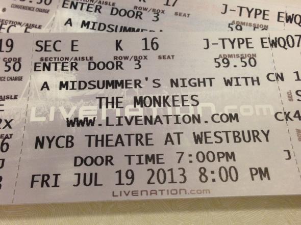 Monkees NYCB
