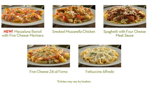 Buy One Entree Take One Home For Free From Olive Garden Coupongy