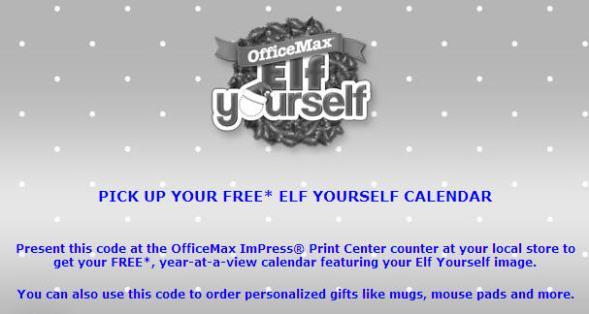 calendar coupon