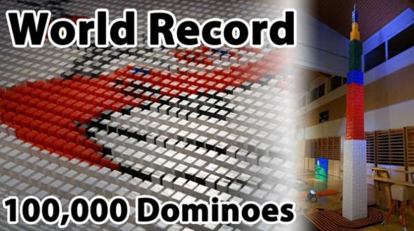 dominos record