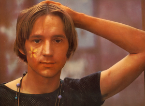 Peter tork with flower